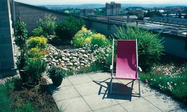 Arrange Terrace Garden